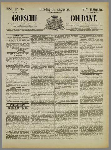 Goessche Courant 1883-08-14