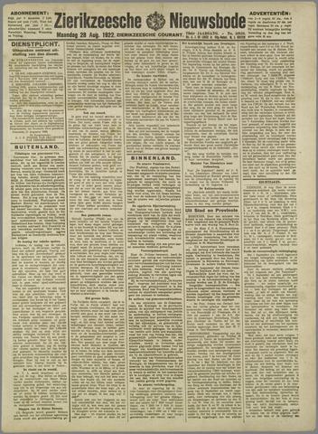 Zierikzeesche Nieuwsbode 1922-08-28