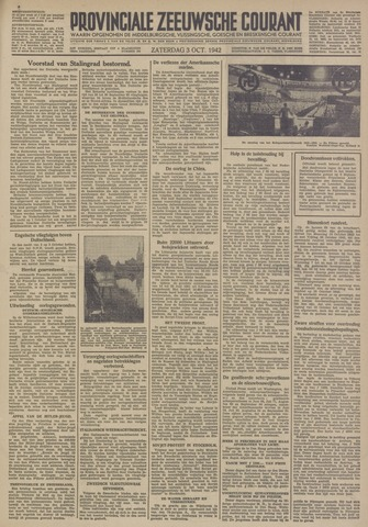 Provinciale Zeeuwse Courant 1942-10-03