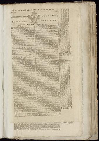 Middelburgsche Courant 1799-06-13