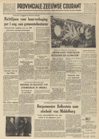 Provinciale Zeeuwse Courant 1957-07-13