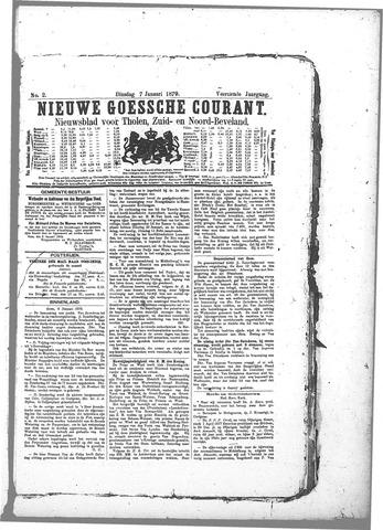 Nieuwe Goessche Courant 1879-01-07