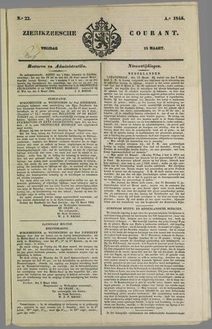 Zierikzeesche Courant 1844-03-15