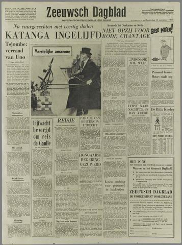 Zeeuwsch Dagblad 1961-09-14