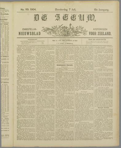 De Zeeuw. Christelijk-historisch nieuwsblad voor Zeeland 1904-07-07