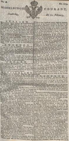 Middelburgsche Courant 1779-02-11