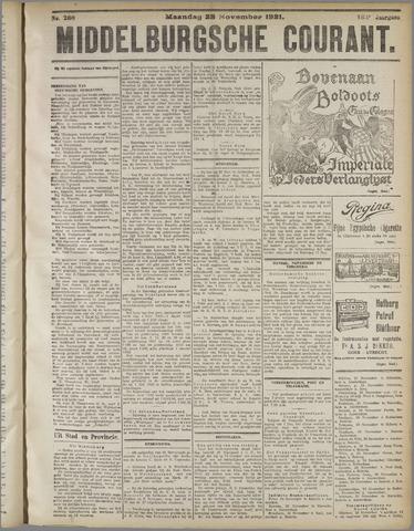 Middelburgsche Courant 1921-11-28