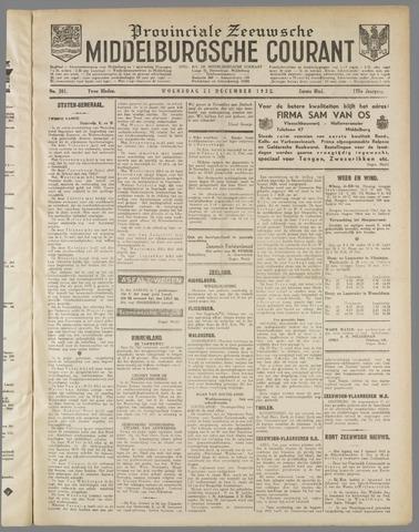 Middelburgsche Courant 1932-12-21