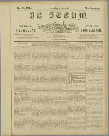 De Zeeuw. Christelijk-historisch nieuwsblad voor Zeeland 1902-01-07