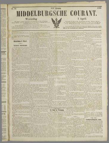 Middelburgsche Courant 1908-04-01