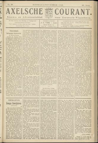 Axelsche Courant 1926-11-02