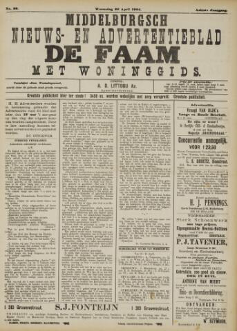 de Faam en de Faam/de Vlissinger 1904-04-20