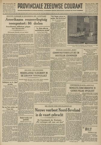 Provinciale Zeeuwse Courant 1952-12-22