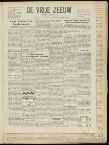de Vrije Zeeuw 1950-02-20