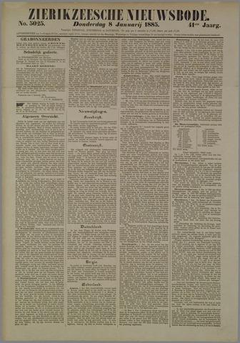 Zierikzeesche Nieuwsbode 1885-01-08