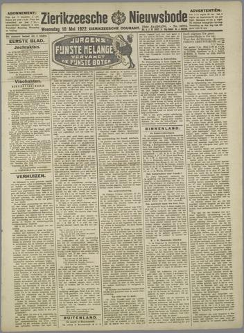 Zierikzeesche Nieuwsbode 1922-05-10