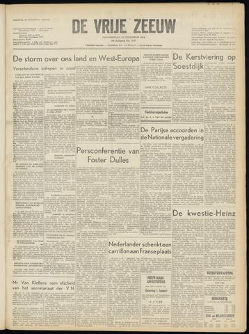 de Vrije Zeeuw 1954-12-23