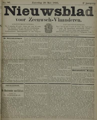 Nieuwsblad voor Zeeuwsch-Vlaanderen 1893-05-20