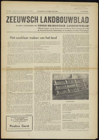 Zeeuwsch landbouwblad ... ZLM land- en tuinbouwblad 1954-02-06