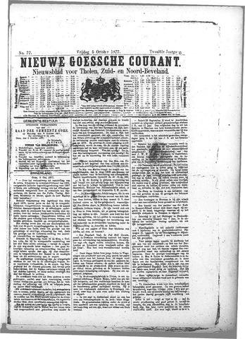 Nieuwe Goessche Courant 1877-10-05