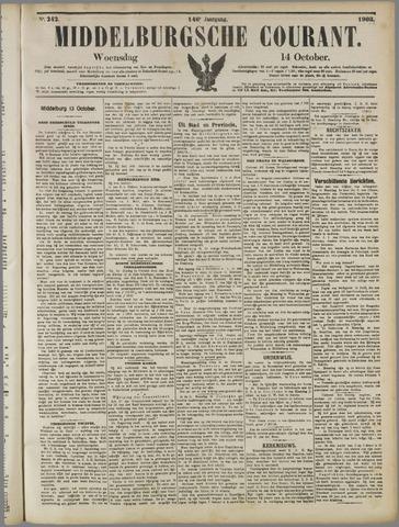 Middelburgsche Courant 1903-10-14