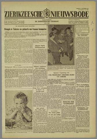 Zierikzeesche Nieuwsbode 1960-11-01