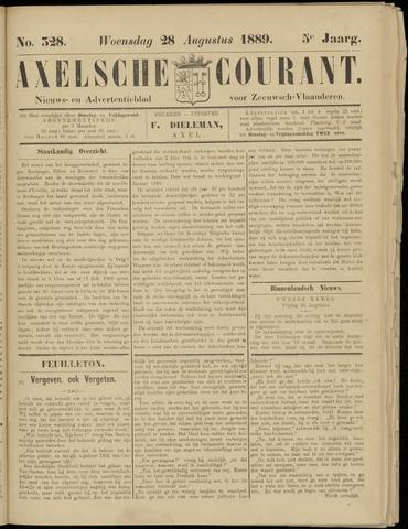 Axelsche Courant 1889-08-28
