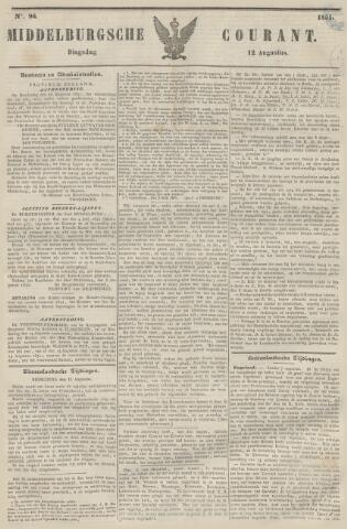 Middelburgsche Courant 1851-08-12