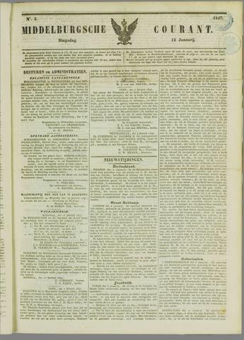 Middelburgsche Courant 1847-01-12
