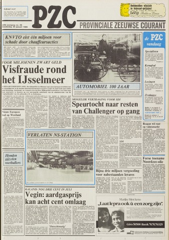 Provinciale Zeeuwse Courant 1986-01-30