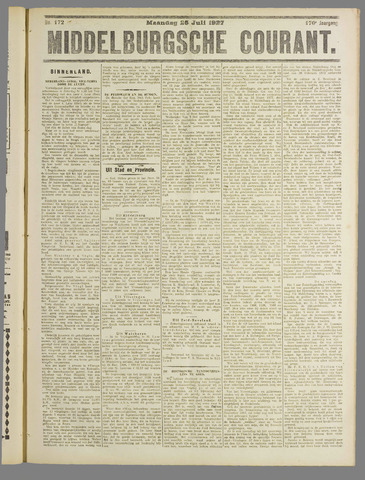 Middelburgsche Courant 1927-07-25