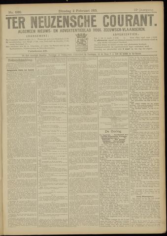 Ter Neuzensche Courant. Algemeen Nieuws- en Advertentieblad voor Zeeuwsch-Vlaanderen / Neuzensche Courant ... (idem) / (Algemeen) nieuws en advertentieblad voor Zeeuwsch-Vlaanderen 1915-02-02