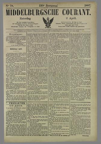 Middelburgsche Courant 1887-04-02