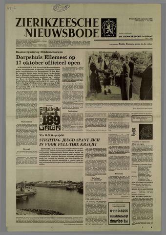 Zierikzeesche Nieuwsbode 1981-09-24