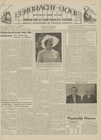 Eendrachtbode (1945-heden)/Mededeelingenblad voor het eiland Tholen (1944/45) 1959-07-31