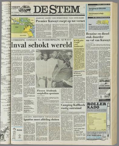 de Stem 1990-08-03