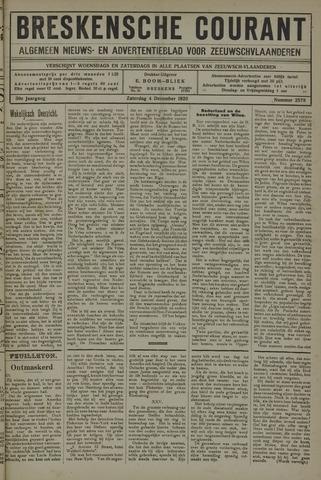 Breskensche Courant 1920-12-04