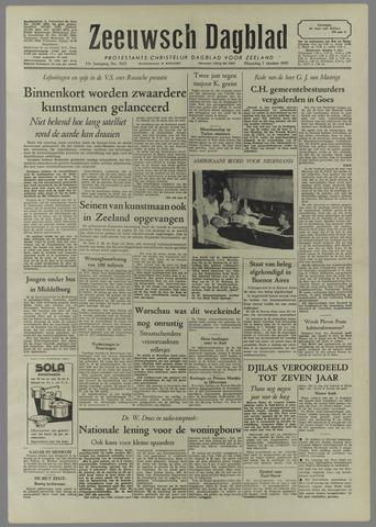 Zeeuwsch Dagblad 1957-10-07