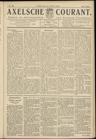 Axelsche Courant 1934-06-15