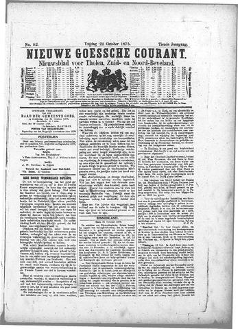 Nieuwe Goessche Courant 1875-10-22