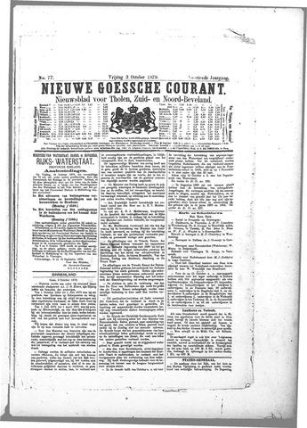 Nieuwe Goessche Courant 1879-09-03