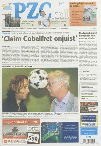 Provinciale Zeeuwse Courant 2009-09-23