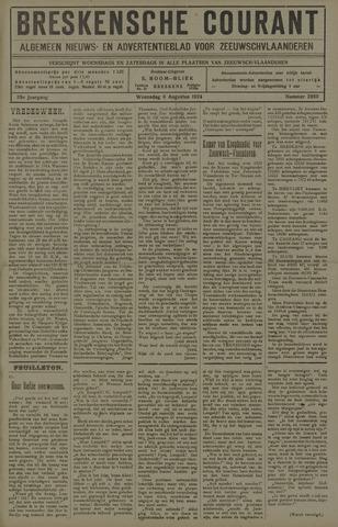 Breskensche Courant 1924-08-06