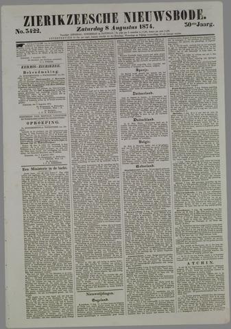 Zierikzeesche Nieuwsbode 1874-08-08