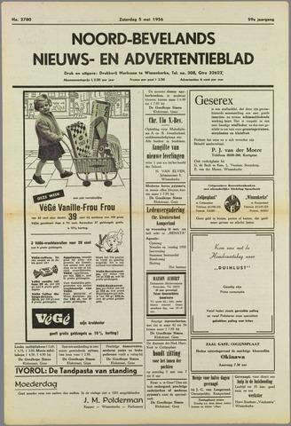 Noord-Bevelands Nieuws- en advertentieblad 1956-05-05