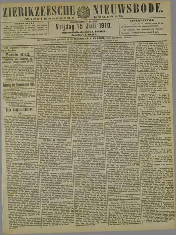 Zierikzeesche Nieuwsbode 1910-07-15