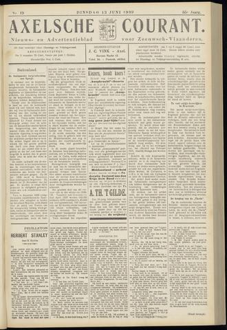 Axelsche Courant 1939-06-13