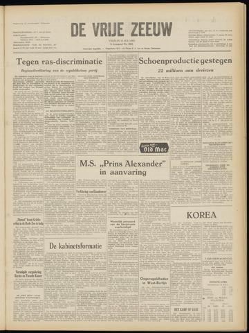 de Vrije Zeeuw 1952-07-11