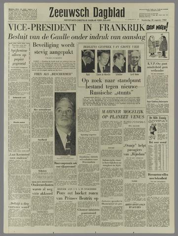 Zeeuwsch Dagblad 1962-08-30