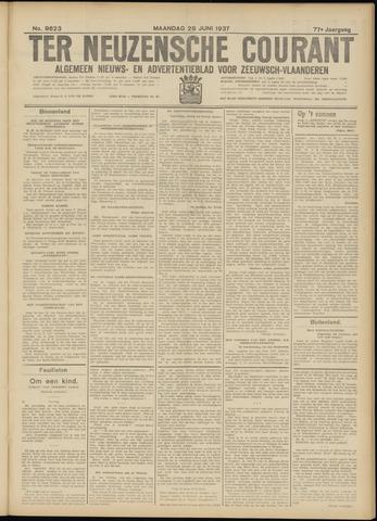 Ter Neuzensche Courant. Algemeen Nieuws- en Advertentieblad voor Zeeuwsch-Vlaanderen / Neuzensche Courant ... (idem) / (Algemeen) nieuws en advertentieblad voor Zeeuwsch-Vlaanderen 1937-06-28